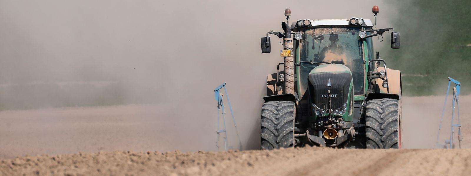 Le secteur agricole est une des sources de la concentration de particules fines dans l'air