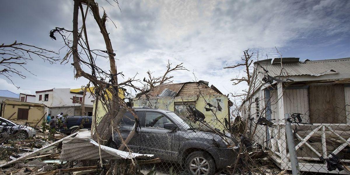 Auf Sint Maarten hat der Sturm besonders schlimm gewütet.