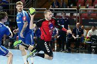 FLH Handball WM Qualifikation der FLH Maenner gegen die Färöeri in der Coque am 12.01.2020 Joe FABER (26 FLH)