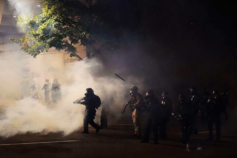 In den vergangenen Tagen waren bereits in Portland Bundespolizisten zum Einsatz gekommen.