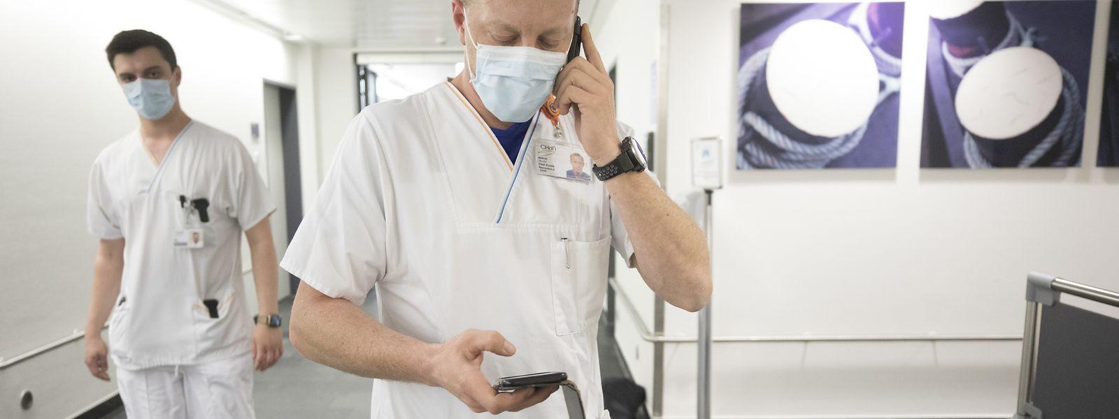 Selon l'OGBL, la reconnaissance actuelle du personnel de santé et de soins est justifiée, mais elle ne change rien aux conditions de travail