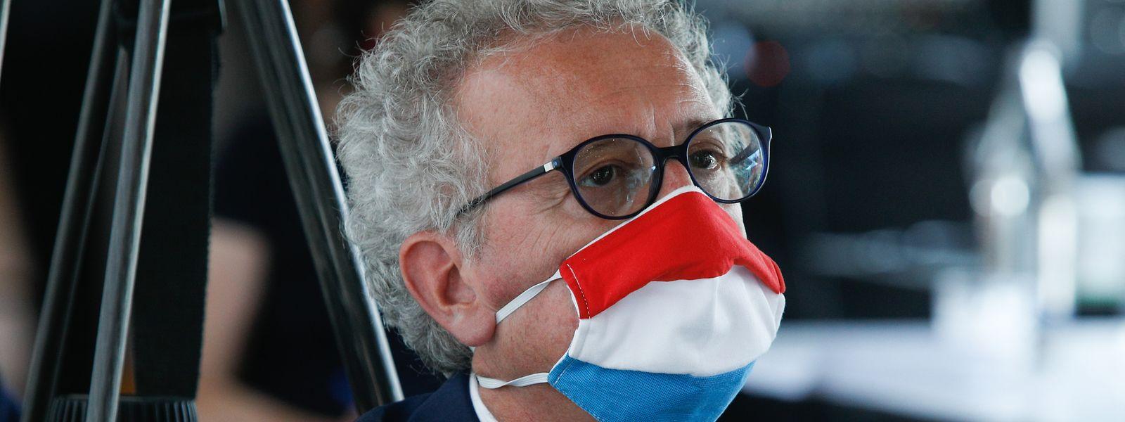 Pierre Gramegna doit faire face à une perte exceptionnelle de recettes de l'ordre de 1,2 milliard d'euros en comparaison à la même période 2019.