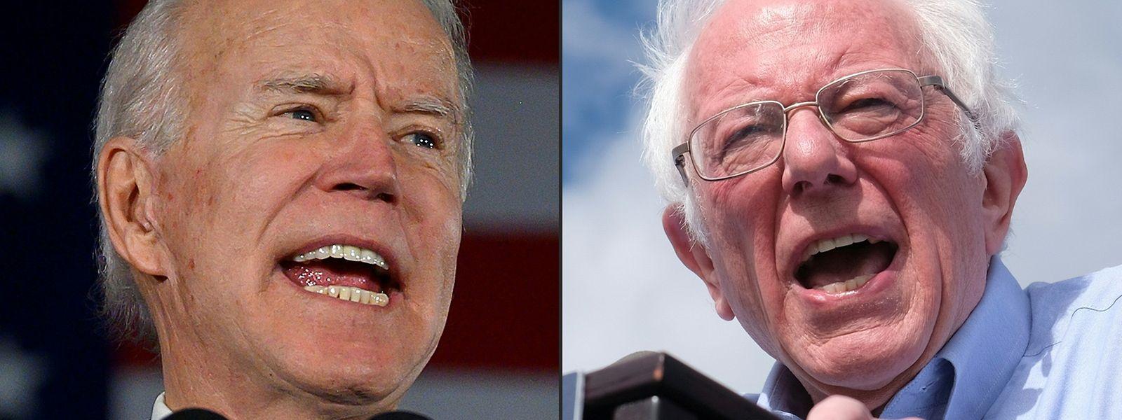 Joe Biden et Bernie Sanders sont les favoris à l'investiture démocrate.