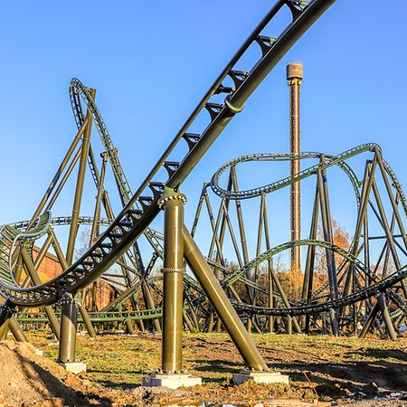 Rollercoaster heaven at Walibi