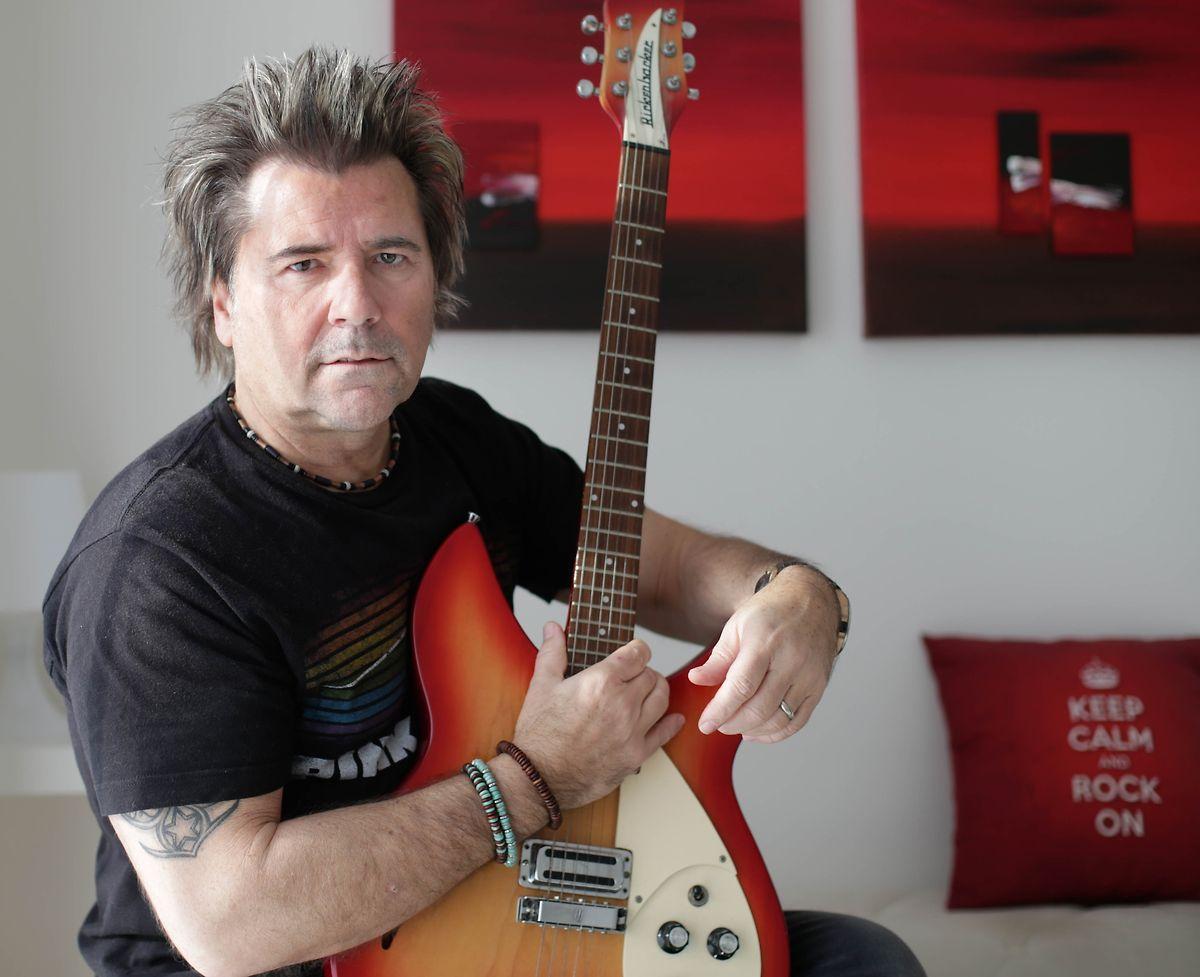 Rock statt Pop: Jimmy Martin ist heute noch als Musiker aktiv.