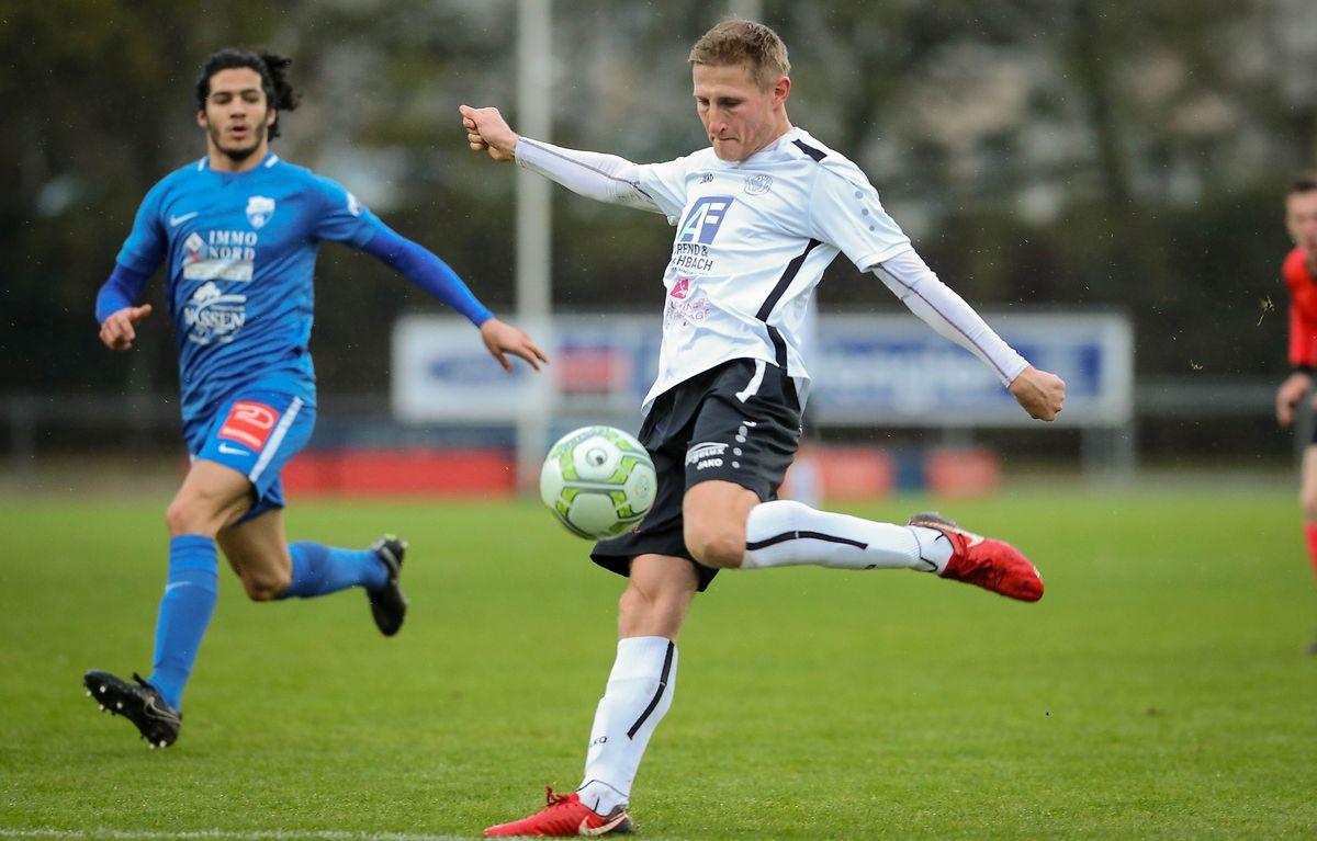 En allant s'imposer à Etzella 2-0, Mickael Jager et Strassen ont signé une victoire importante dans la course au maintien.