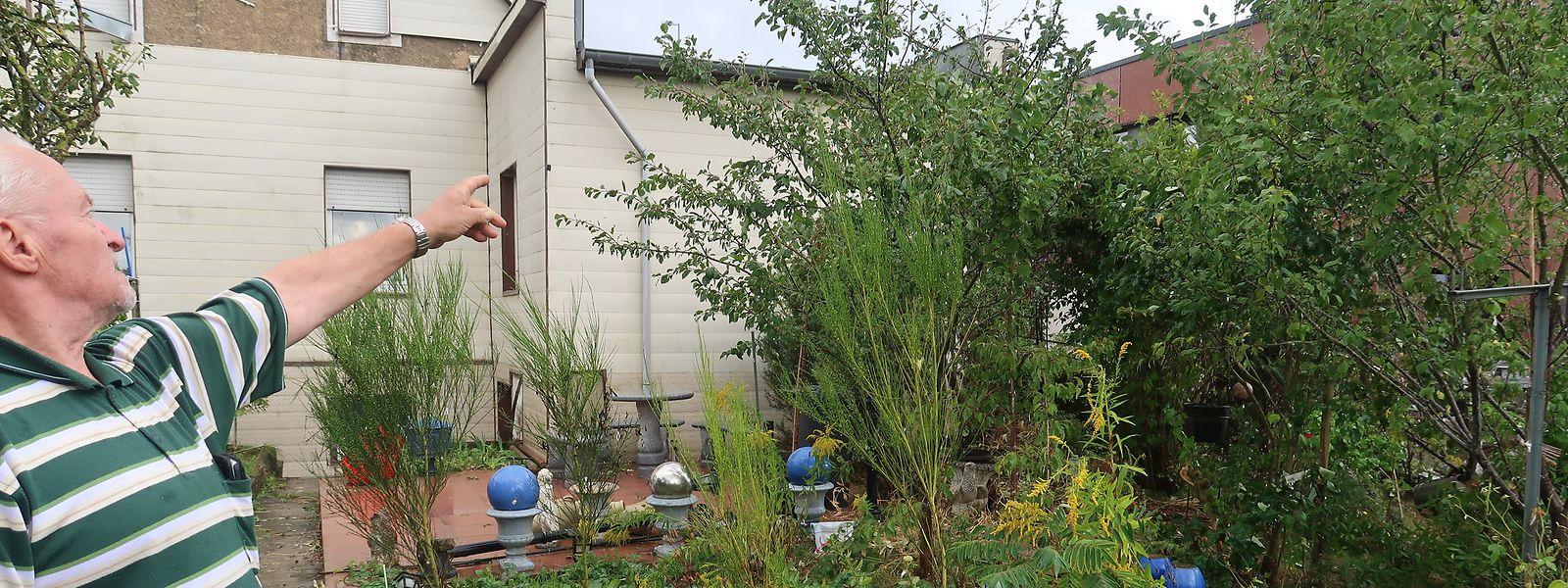 Sein Garten war der Stolz von Rentner Jean-Pierre Stors