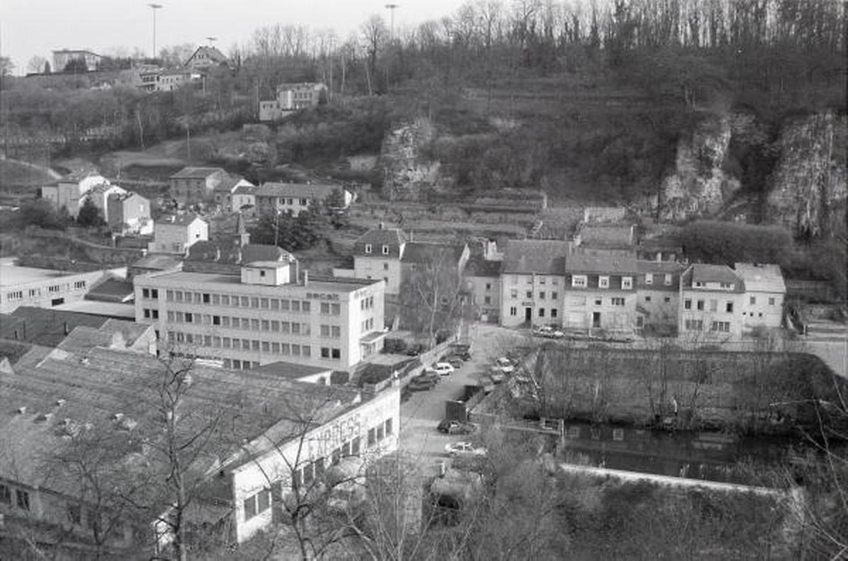 Ab 1948 war die Firma Secalt auf dem Areal. (FOTO: FRANÇOIS BUNY, COPYRIGHT PHOTOTHÈQUE VDL)