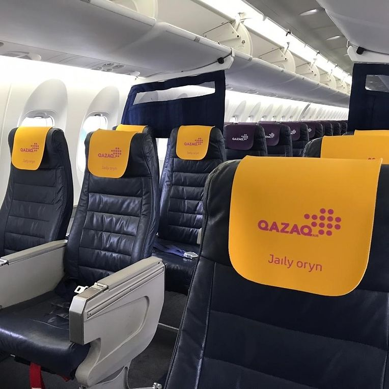 The passengers of this Eastern European company do not know it but their head rests on