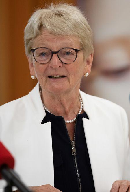 Caritas-Präsidentin Marie-Josée Jacobs fordert eine Erhöhung des Revis und der Teuerungszulage.