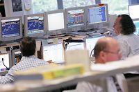 15.11.06 Wirtschaftsbeilage, illustration, Wirtschaft, Boerse, Geld, Handelsraum fortis Luxemburg, photo: Marc Wilwert