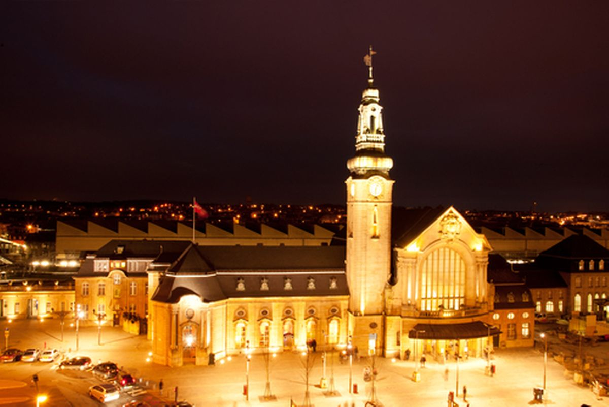 The central station was designed to give the impression of a Baroque abbey Photo: Shutterstock
