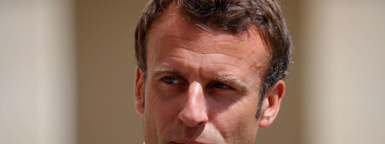 Der französische Präsident Emmanuel Macron will sich künftig mehr für Umweltschutz einsetzen.