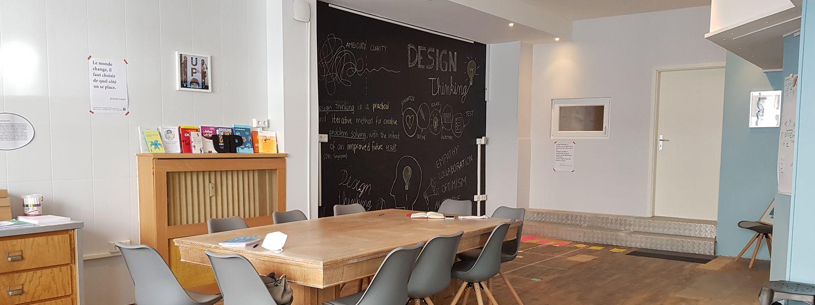In ihren Räumlichkeiten in Esch bietet die Stiftung regelmäßig Workshops an.