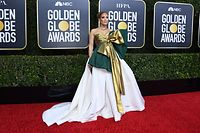 US actress Jennifer Lopez arrives for the 77th annual Golden Globe Awards on January 5, 2020, at The Beverly Hilton hotel in Beverly Hills, California. (Photo by VALERIE MACON / AFP)