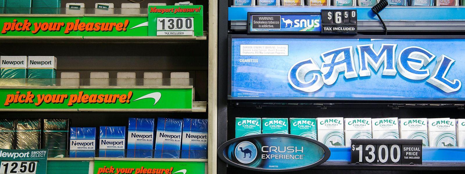 Der Tabakkonzern British American Tobacco will sich den Camel-Hersteller Reynolds American komplett einverleiben.