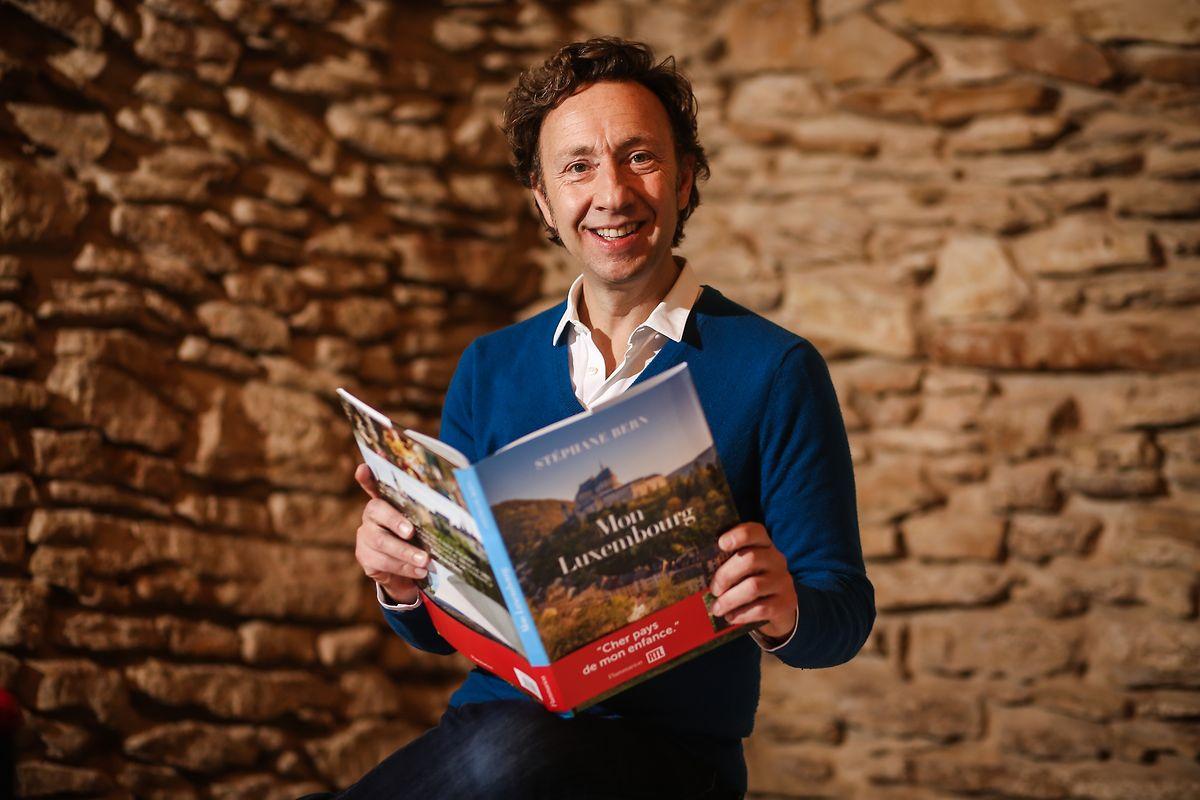 Stéphane Bern lors de la présentation de son livre «Mon Luxembourg».
