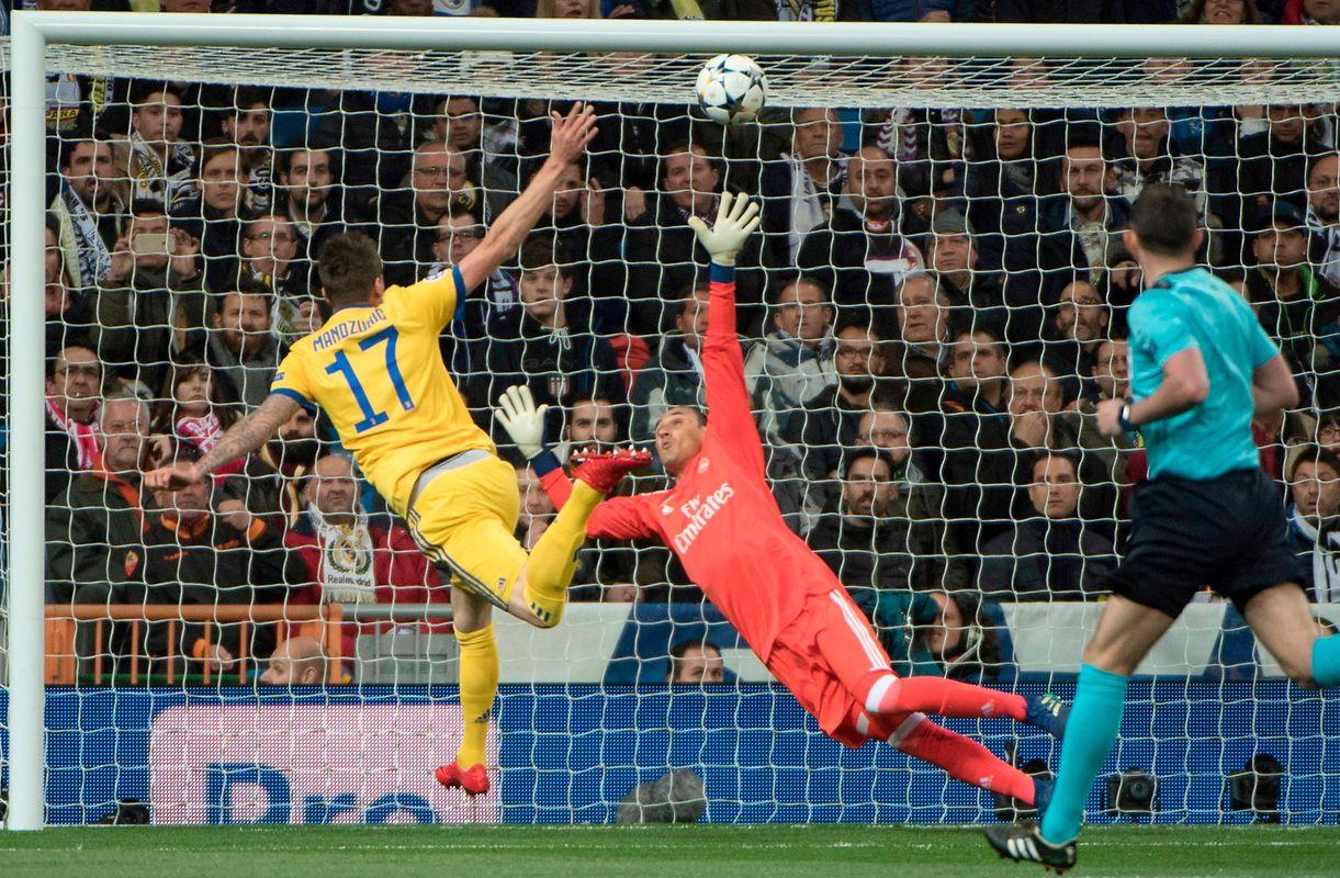 Schon in der 2.' dachte man zwangläufig an das Wunder von Rom, denn Mario Mandzukic traf zum 1:0.