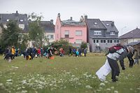 Lokales, Suivi Tornado: Putzaktion Bauernfelder Käerjeng, Foto: Lex Kleren/Luxemburger Wort