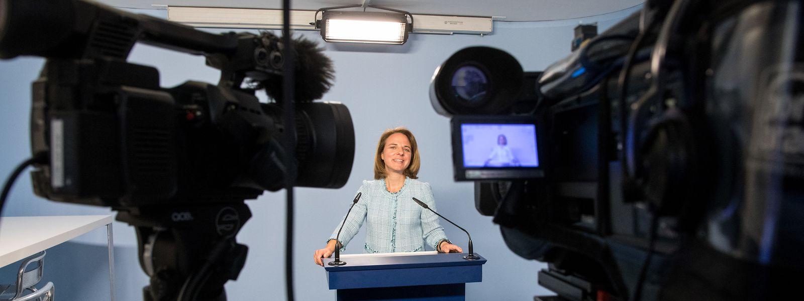 Corinne Cahens DP steht beim Transparenz-Register auf der Bremse.