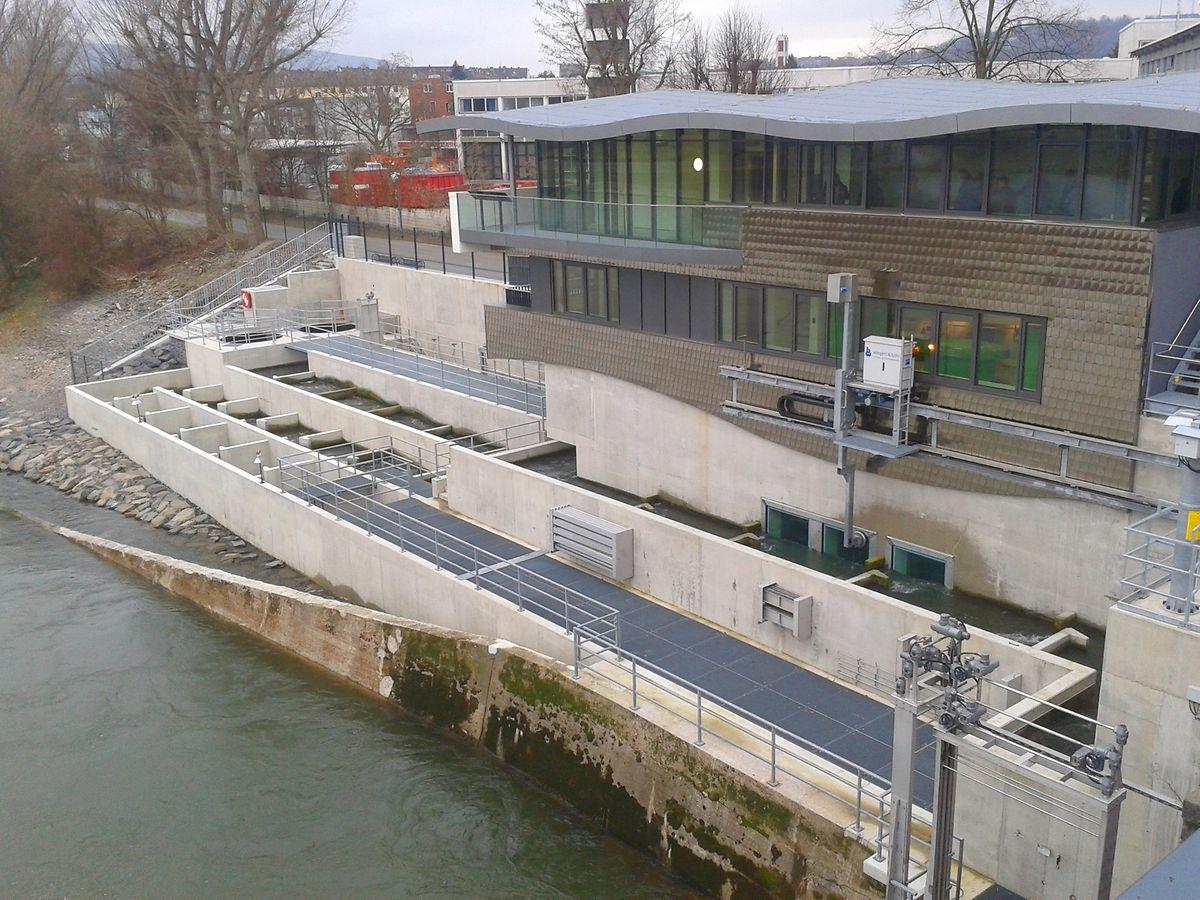 C'est ce type de passes pour poissons migrateurs qu'il faudra installer au Grand-Duché notamment.