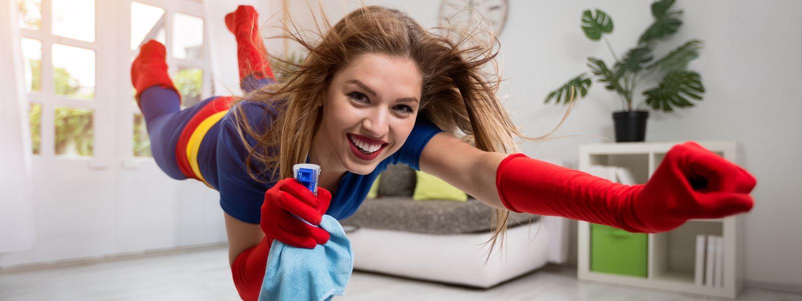 Il faut croire que les familles manquaient cruellement de produits ménagers, les ventes ont aussi explosé depuis mars...