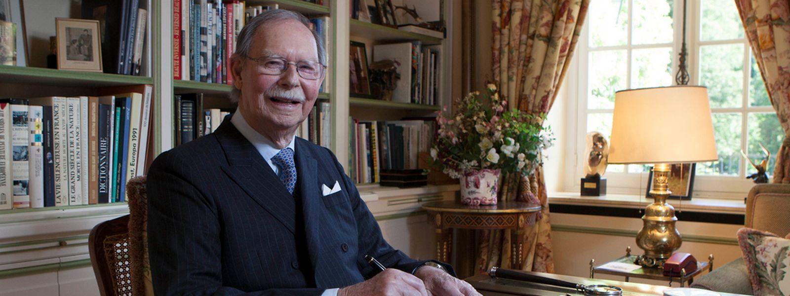 Großherzog Jean wurde am 5. Januar 1921 auf Schloss Berg geboren.