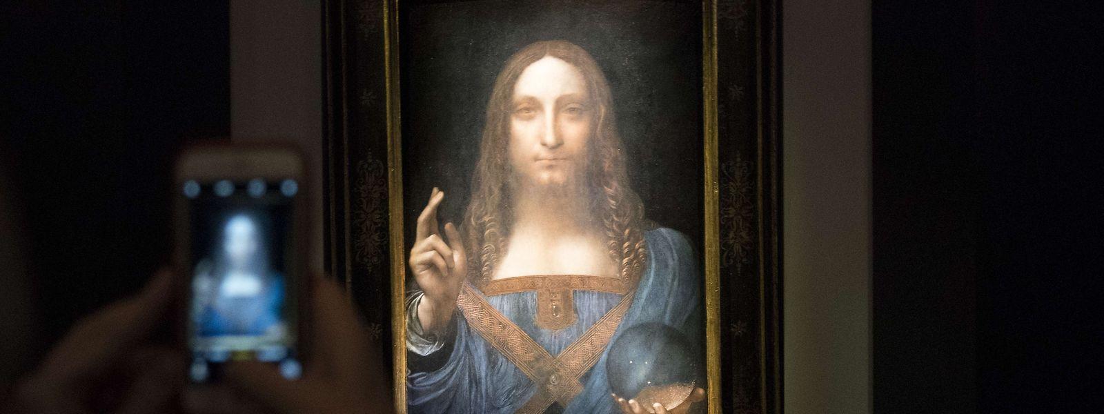 """Das Werk """"Salvator Mundi"""" von Leonardo da Vinci ist das teuerste je verkaufte Kunstwerk."""