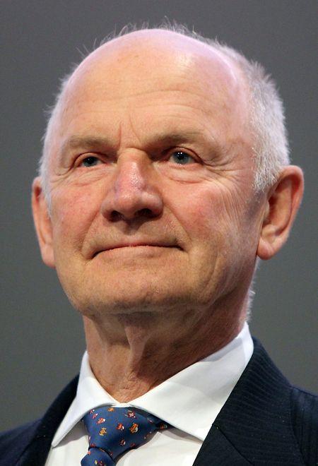 Ferdinand Piech, aufgenommen zu Beginn einer VW-Hauptversammlung.