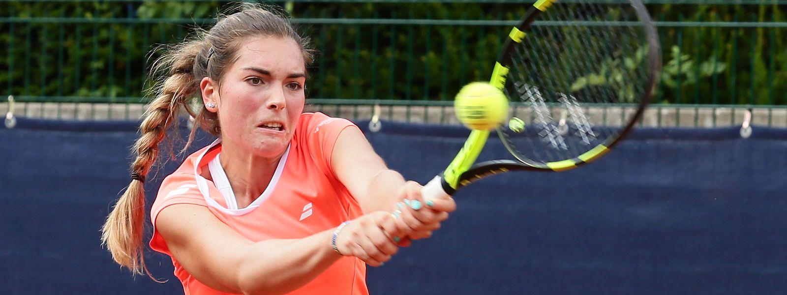 Eléonora Molinaro darf wieder Tennis spielen, aber nicht unter Wettkampfbedingungen.