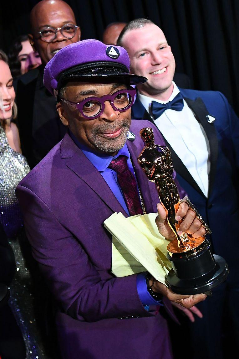 """Spike Lee (""""BlacKkKlansman"""") nutzte die Gala für ein politisches Statement."""