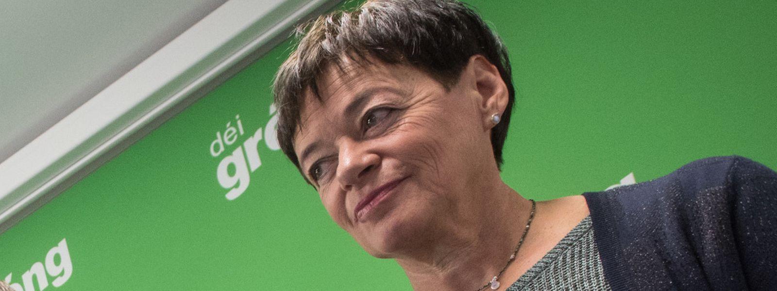 Josée Lorsché entend veiller sur les deux nouvelles députées, Chantal Gary et Semiray Ahmedova