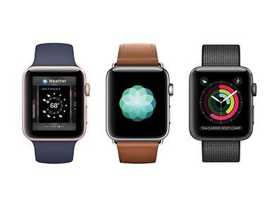 Die Apple Watch Series 2 gibt es wieder in verschiedenen Farbausführungen, Größen und mit zahlreichen Armbändern.