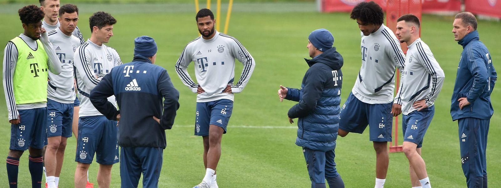 Les clubs de Bundesliga, comme ici le Bayern Munich, ont déjà repris l'entraînement