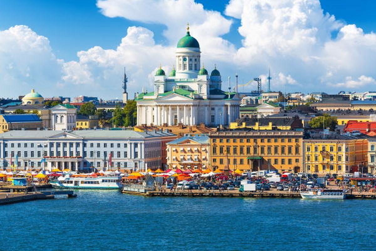 Helsínquia, a cidade mais feliz do mundo.