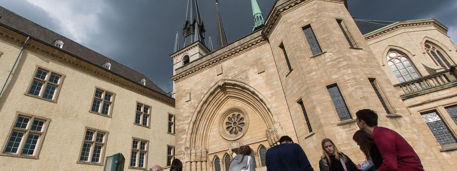 La cathédrale Notre-Dame de Luxembourg-Ville a été construite au XVIIe siècle.