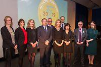 Wi , Athenee , Remise Prix Actions Positives 2019 , Egaltie entre hommes et femmes dans les entreprises , Foto: Guy Jallay/Luxemburger Wort