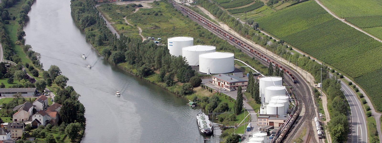 Die Tanklager in Mertert sollen ausgebaut werden.