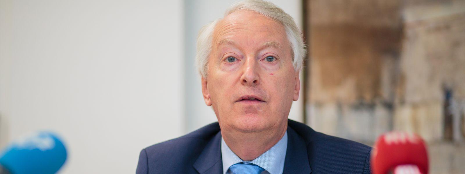Claude Wirion, le président de la CAA décrit 2019 comme «l'année où l'internationalisation du marché luxembourgeois de l'assurance a été achevée»