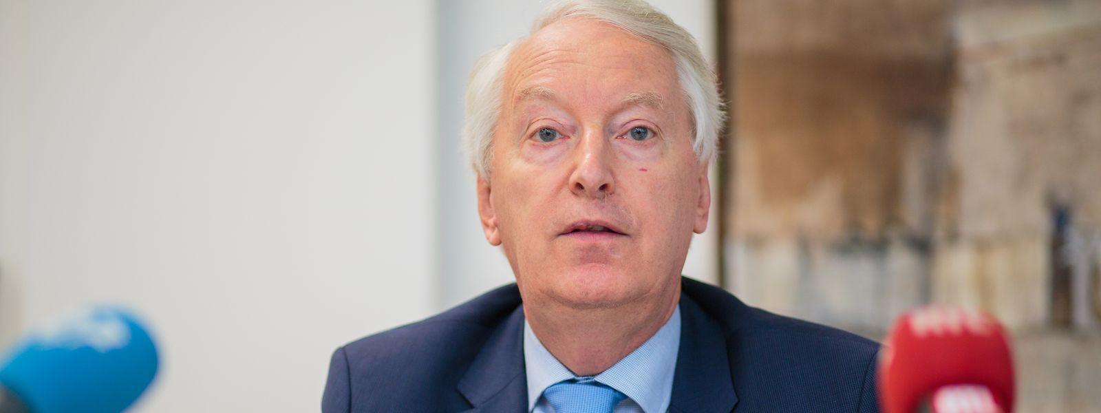 Pour Claude Wirion, président du conseil de direction du CAA, les compagnies d'assurance du Luxembourg peuvent verser des dividendes à leurs actionnaires, malgré les recommandations de l'autorité européenne.