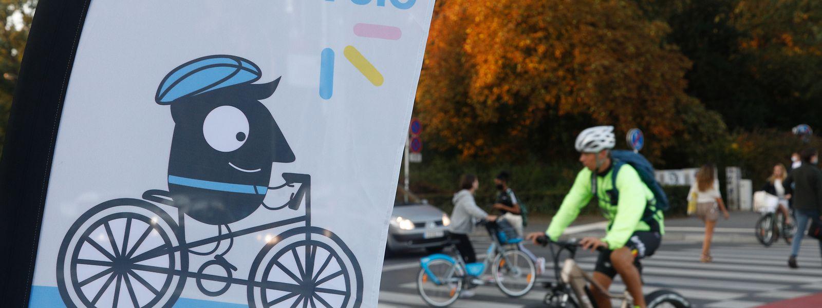 L'opération «E Kaddo fir de Vëlo» a lancé la Semaine européenne de la mobilité au cœur de la capitale.