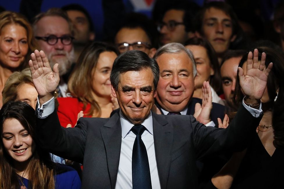 Francois Fillon, candidate for the right-wing primaries ahead of the French 2017 presidential election