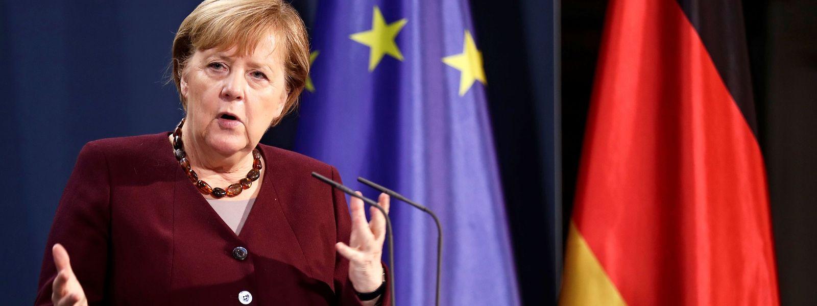 La chancelière allemande Angela Merkel s'est dite «inquiète que rien n'ait été encore fait» concrètement pour assurer la vaccination dans les pays pauvres.