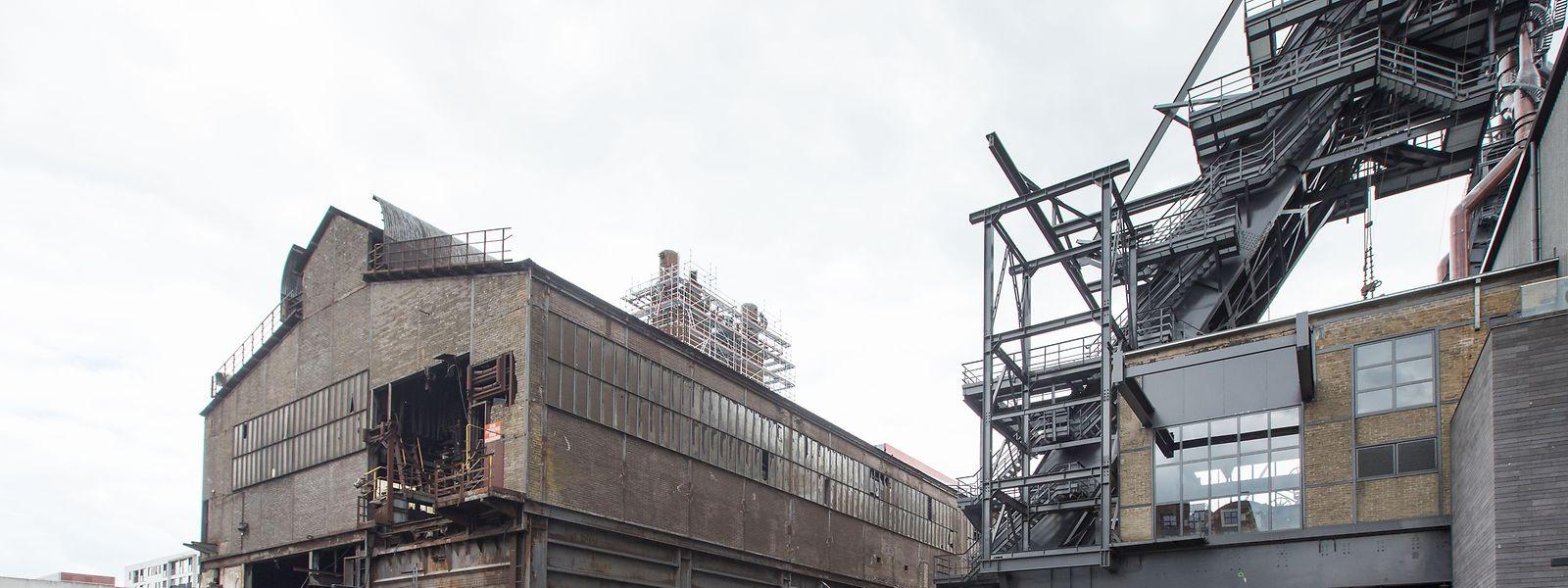 Werden die Sanierungsarbeiten rechtzeitig fertig, soll der verbleibende Teil der Möllerei in Belval zum Hauptplatz der kulturellen Programmatik von Esch 2022 werden.