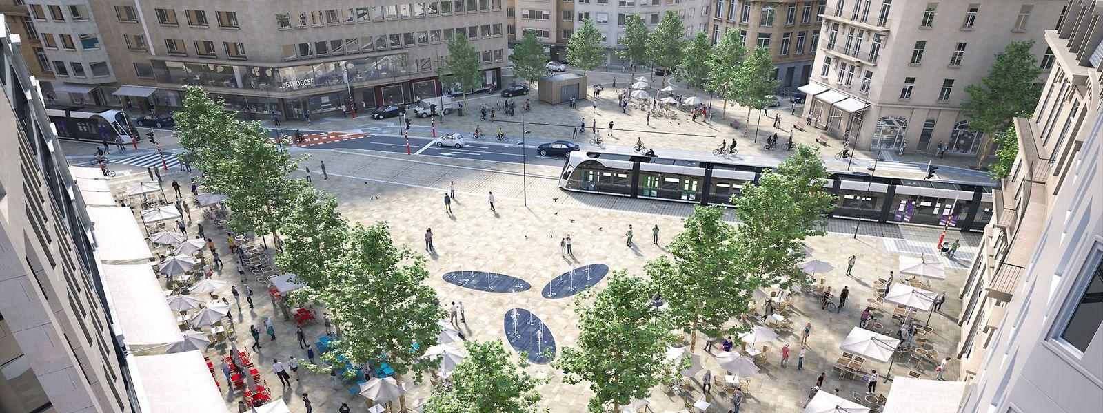 D'ici à 2021, la Place de Paris aura radicalement changé d'apparence.