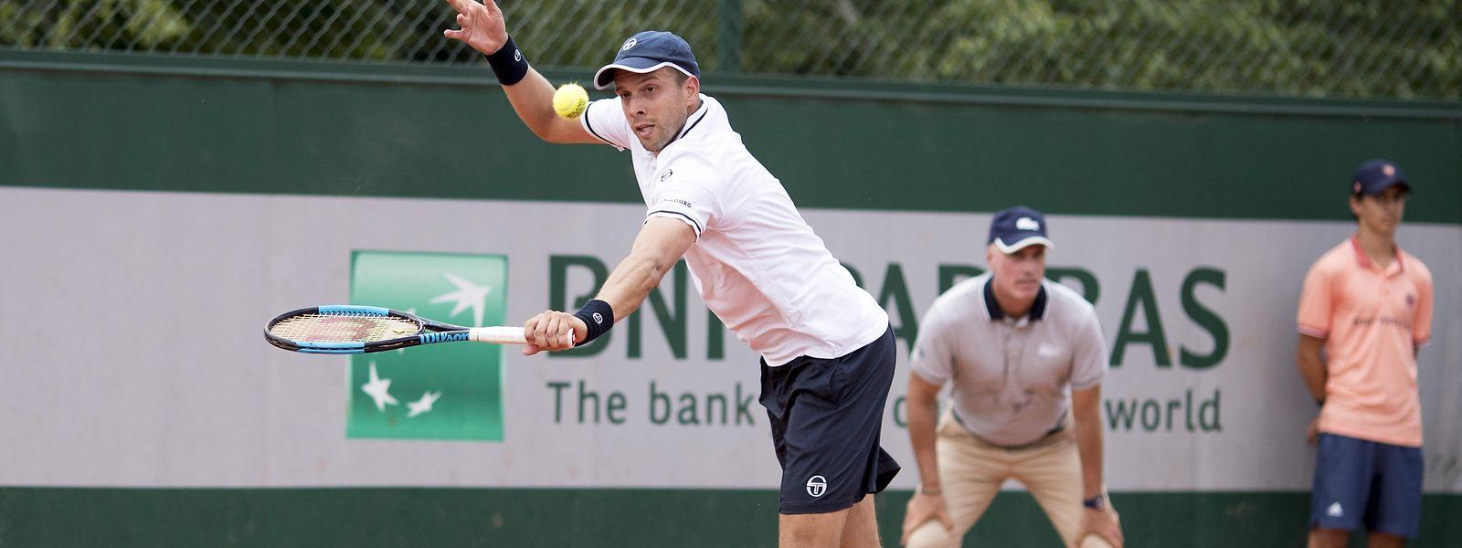 Une fois de plus, Gilles Muller ne franchira pas le cap du premier tour à Roland Garros