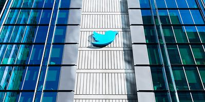 Twitter's headquarters in San Francisco, US