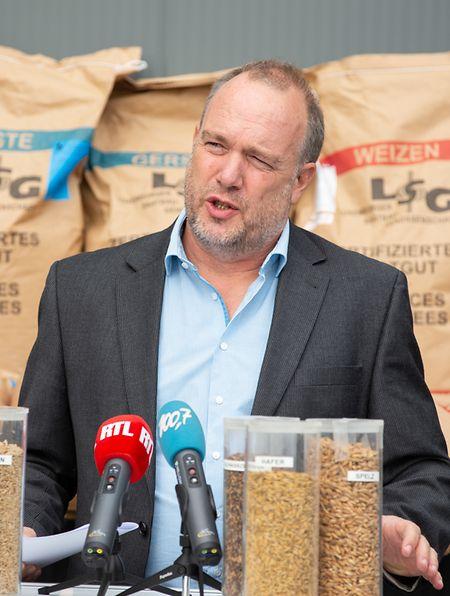 Als Direktionsmitglieder der Agrargenossenschaft De Verband ging Klaus Palzkill näher auf die Ursachen der insgesamt  enttäuschenden Ernte 2020 ein.