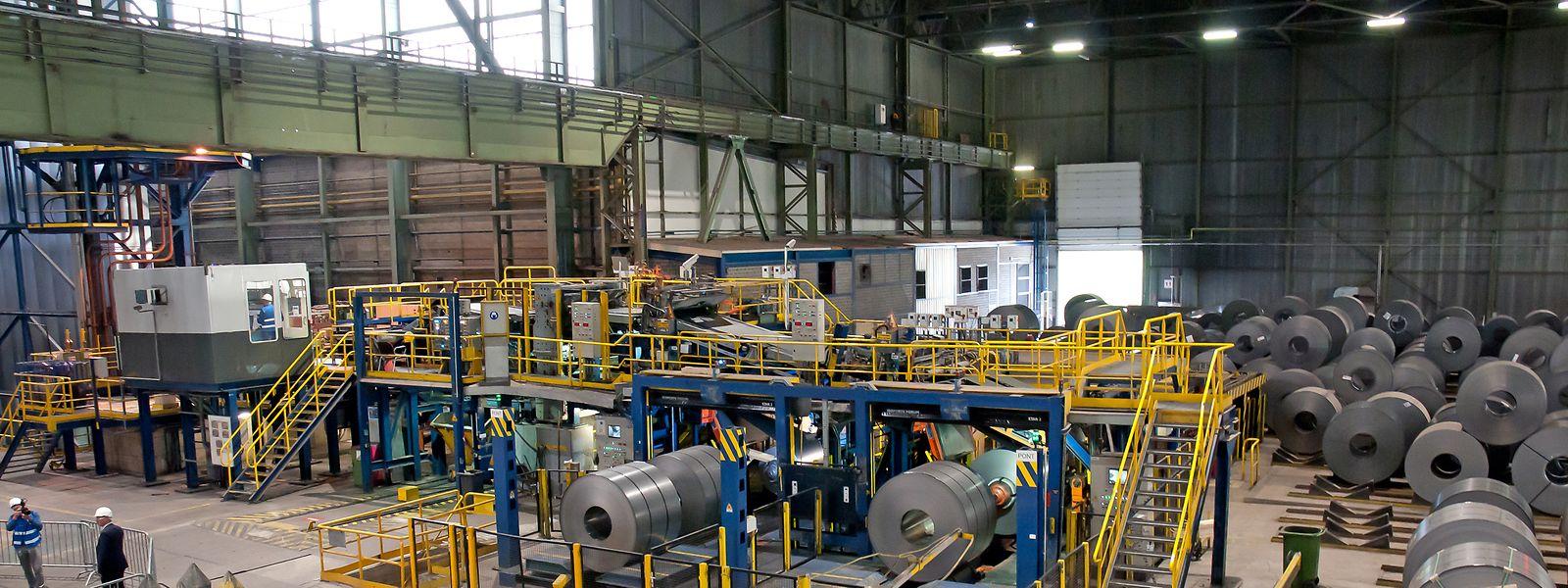 Der Wirtschaftsminister führte das Düdelinger Liberty Steel Werk als positives Beispiel auf.