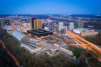 Coronavirus - Leere Plätze - Luxemburg - Lost City - Drone  - Plateau du Kirchberg -   Foto: Pierre Matgé/Luxemburger Wort